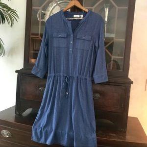 LL Bean Henley Dress